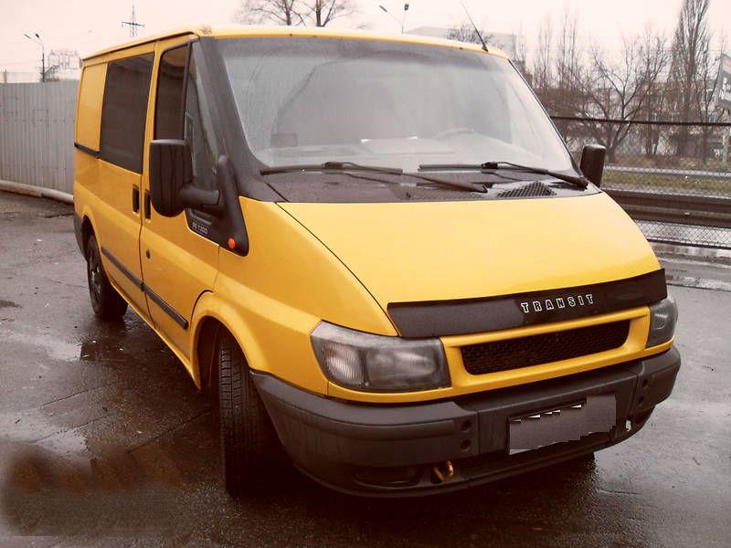 Дефлектор капота (мухобойка) FORD Transit c 1999-2007г.в.