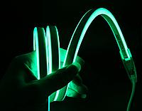 Светодиодный неон зеленый 1м, 220В