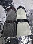 Женский комплект: шапка и бафф с напылением (5 цветов), фото 7