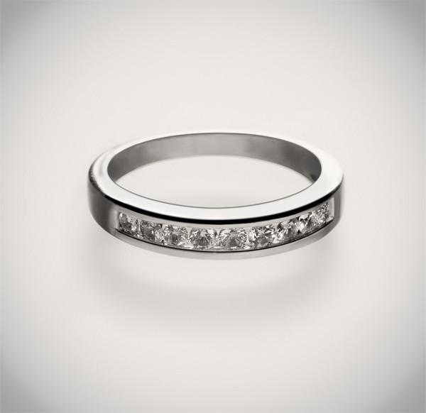 Золотое кольцо с бриллиантами С21Л2№28