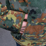 Флісова кофта НАТО BUNDESWEHR флектарн, фото 3
