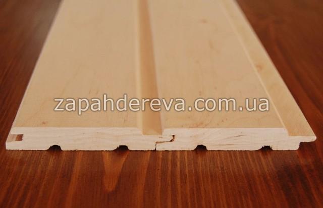 Вагонка деревянная сосна, ольха, липа Евпатория