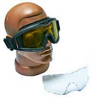 Тактические очки (НАТО, маска, 2 линзы)