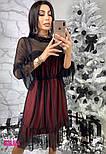 Женское красивое платье с сеткой (3 цвета), фото 2