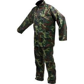 """Куртка і штани робочі, колір """"ХАКІ"""" розм. L, 70%- поліестер, 30% - ПВХ (74646 Vorel)"""