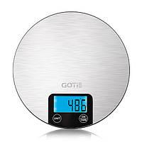 Весы кухонные GOTIE GWK-100 до 5 кг. электронные