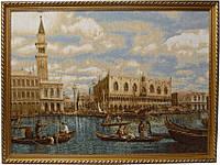 """Картина гобеленовая """" Уголок Венеции"""""""