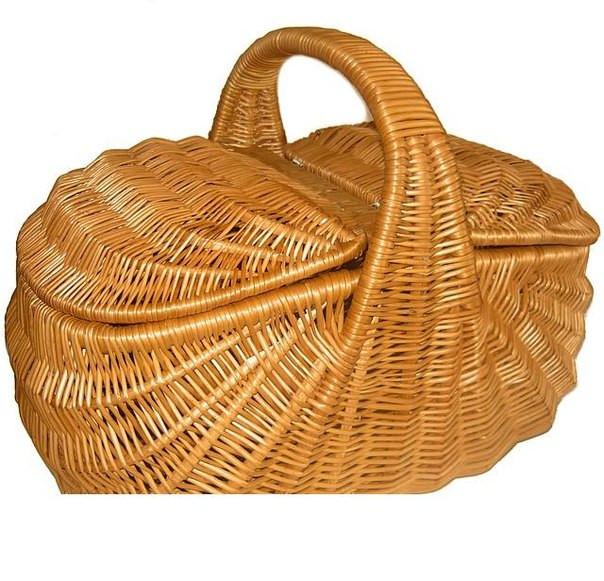 Плетеные корзины для пикника