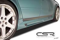 Накладки на пороги тюнинг обвес Audi A6 C5