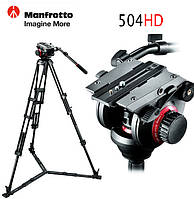 Видео голова Manfrotto 504HD 2-х осевая