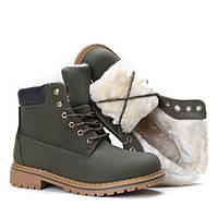 Качественные женские ботинки на зимний период, фото 1