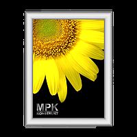 """Рамка алюминиевая """"click""""  (32 мм), фото 1"""
