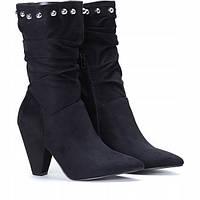 Женские ботинки, полусапожки на каблучке, фото 1