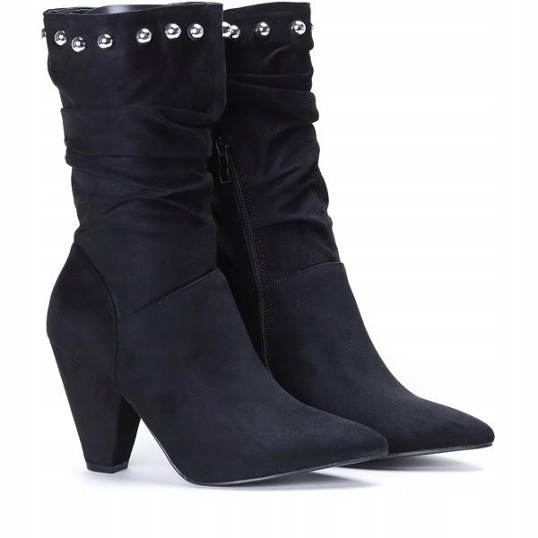 Женские ботинки, полусапожки на каблучке