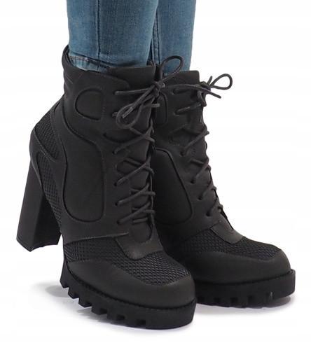 Осенне-зимние ботильоны для девушек на каблуке