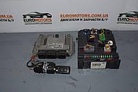 Блок управления двигателем комплект Peugeot 207  2006-20131.6hdi 0281013868