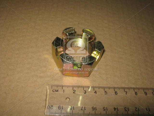 Гайка М30х1,5 пальца реакт. коронч. КАМАЗ ( H=22 мм) 5511-2919031