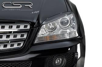 Реснички бровки тюнинг Mercedes ML W164