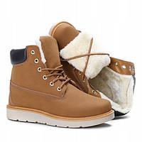 Зимние ботинки на удобной платформе, фото 1