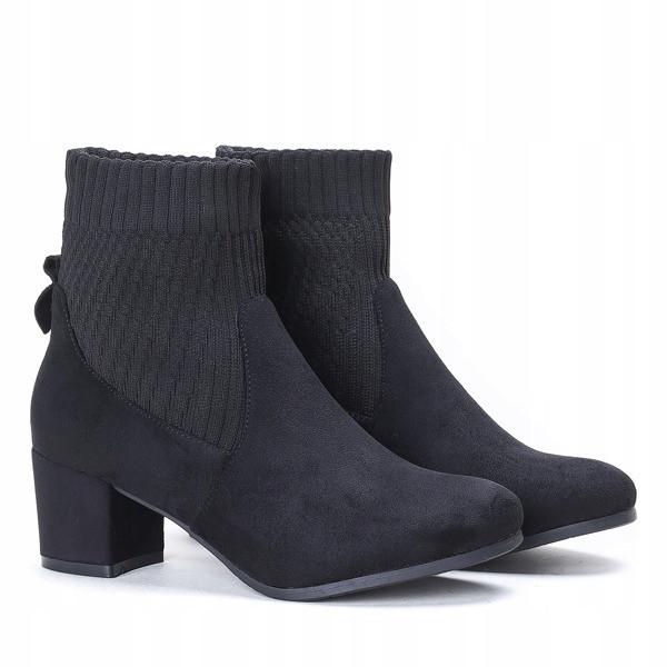 Стильные ботинки на не большом каблуке