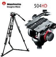 Видео голова Manfrotto 504HD 3-х осевая