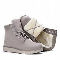 Зимние женские ботинки на платформе, фото 1