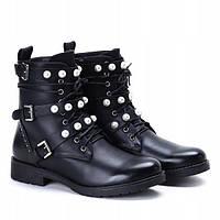 Молодёжные демисезонные качественные ботинки, фото 1