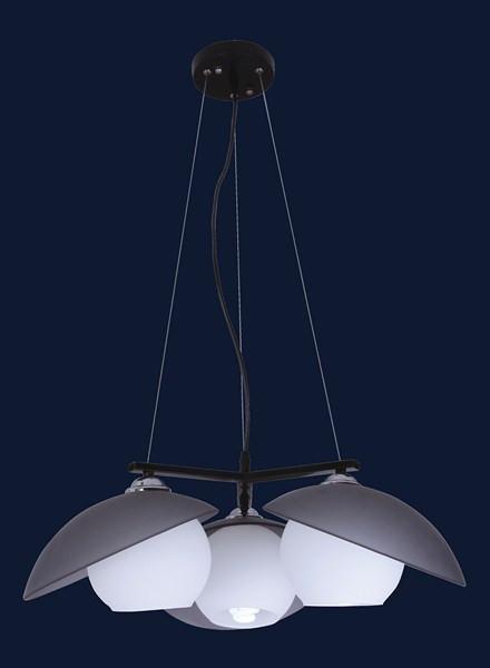 Люстра подвесная Levistella 7076235-3 черный
