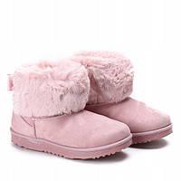 Красивые угги для девушек розового цвета, фото 1