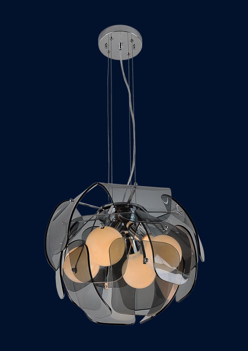 Люстра подвесная Levistella 7093012-4 черный
