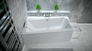 Асимметричная ванна Besco PMD Piramida Infinity 160х100 левая