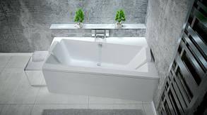 Асимметричная ванна Besco PMD Piramida Infinity 160х100 правая