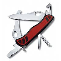 Victorinox Викторинокс нож Dual Pro 10 предметов 111 мм красно черный нейлон
