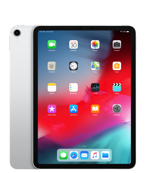 "IPad Pro 11"" Wi-Fi+Cellular 64GB Silver (MU0Y2) 2018"