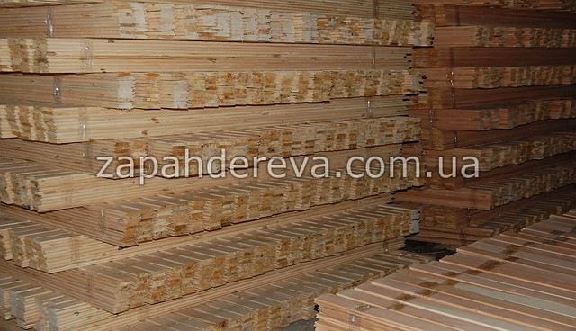 Вагонка деревянная сосна, ольха, липа Вахрушево
