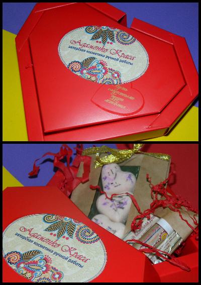 """Вот такие подарочки-благодарочки двум прекрасным девушкам, за активное участие в жизни группы """"Адаменко Краса""""."""