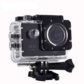 Водонепроницаемая спортивная камера DVR SPORT S2 Wi Fi Черная (gr_006579)
