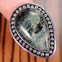 Серебряное кольцо с Камбаба яшмой