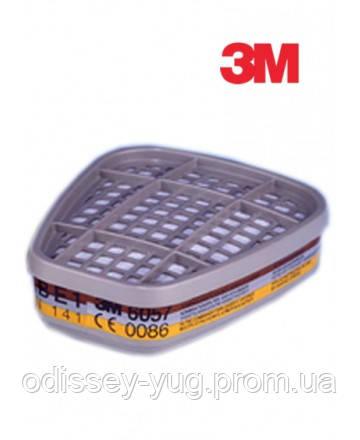 Сменный патрон фильтр  3M™ 6057 для масок и полумасок серии 6000.