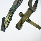 Триточковий ремінь (автоматний, НАТО), фото 3