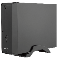 Корпус LogicPower S621 / Black / 400W / 80 mm / 20+4pin / Micro ATX / Mini ITX / SATA x 2 / USB2.0 x 2 / 2x3.5mm / 5.25 x 1 / 3.5 x 1 / 0.6 mm /