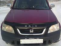 Дефлектор капота (мухобойка) HONDA CR-V 1995-2002 г.в.