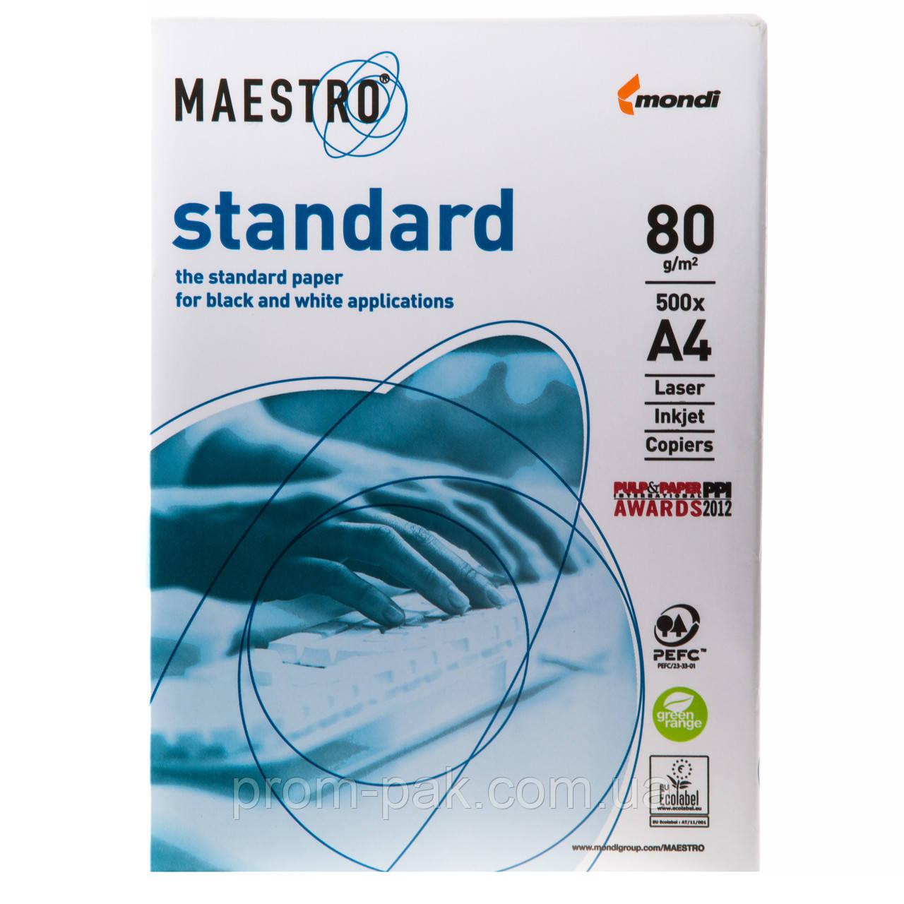 Бумага офисная Maestro Standart A4 пл 80