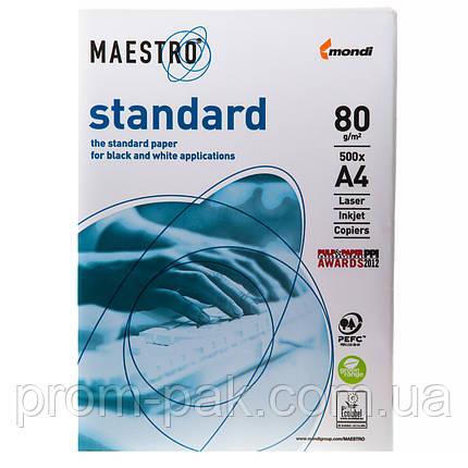 Бумага офисная Maestro Standart A4 пл 80  , фото 2