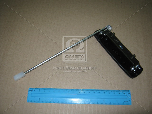 Ручка двери ВАЗ 2110 передняя левая наруж. с тягой (пр-во ДААЗ) 21100-610513500