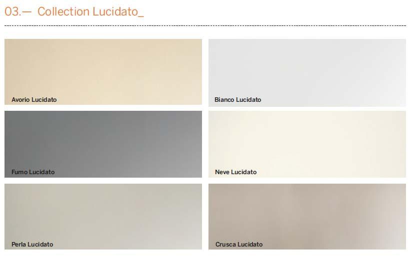 Квацевые панели Laminam, серия Collection Lucidato
