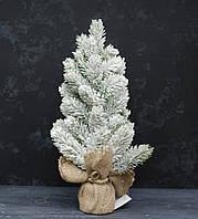 Ель литая в снегу 40см в мешку, фото 1