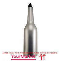 Бутылка для флейринга The Bars 700 мл серебряный, F001MS