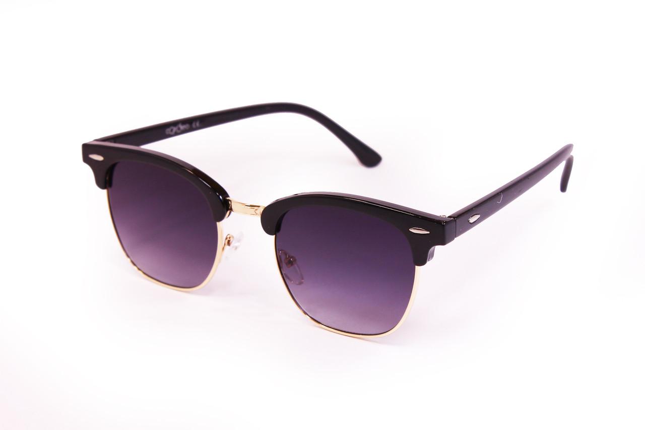 Женские солнцезащитные очки UV400 Черные (3016-1)