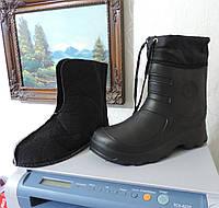 Сапоги дутики мужские с утеплителем. Непромокаемые, непромерзаемые., фото 1